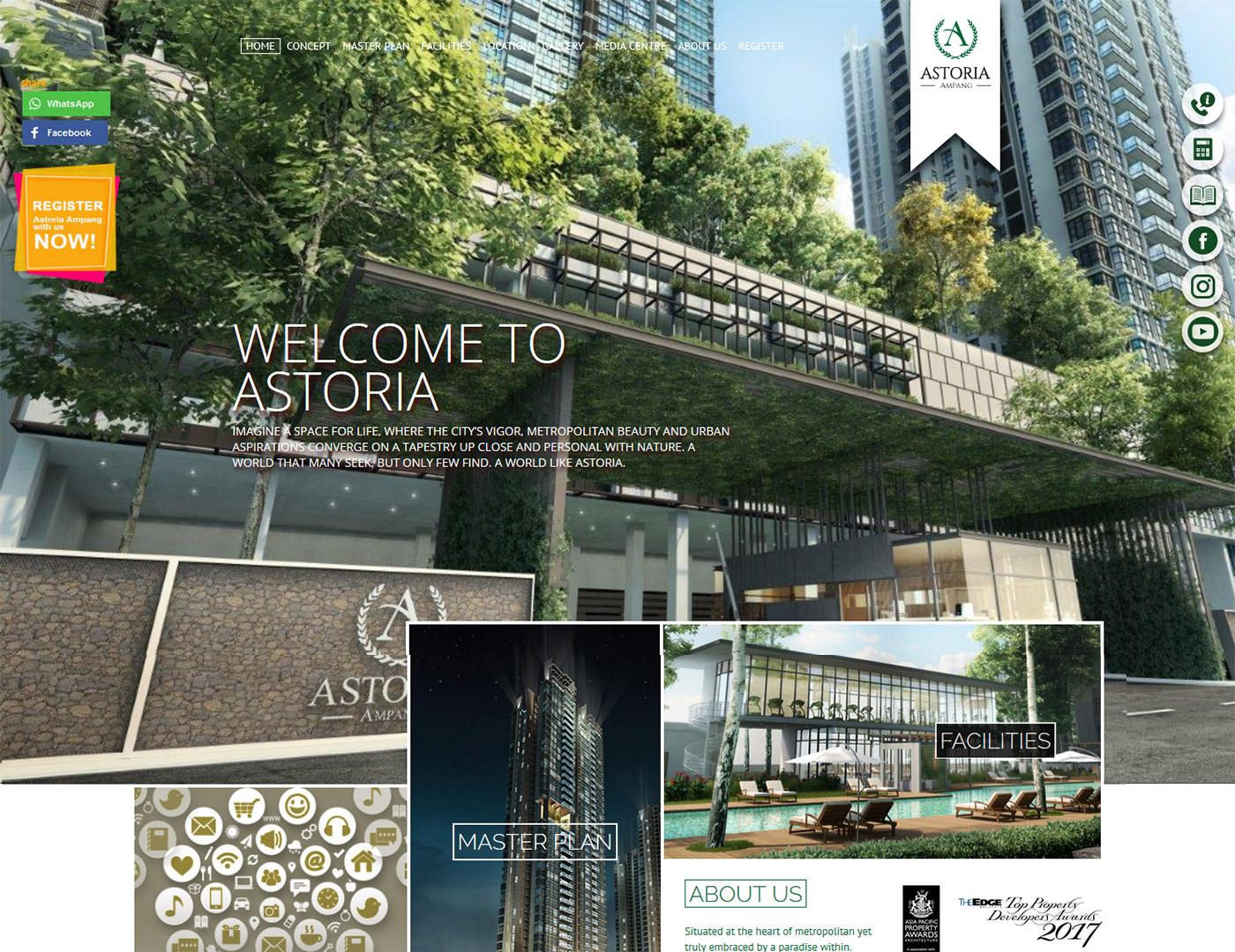Astoria Ampang Homepage