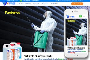 vfree Disinfectants Product
